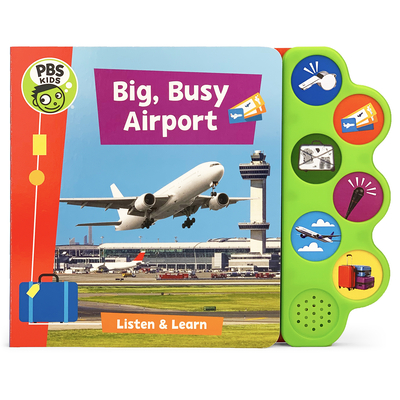 Big, Busy Airport (PBS Kids) Cover Image