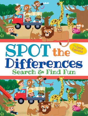 Spot the Differences: Search & Find Fun (Dover Children's Activity Books) Cover Image