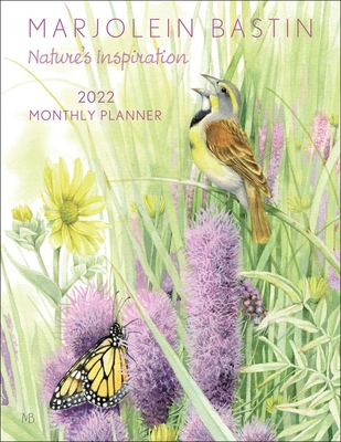 Marjolein Bastin Nature's Inspiration 2022 Large Monthly Planner Calendar Cover Image