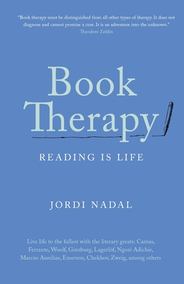 Book Therapy: Reading Is Life Cover Image
