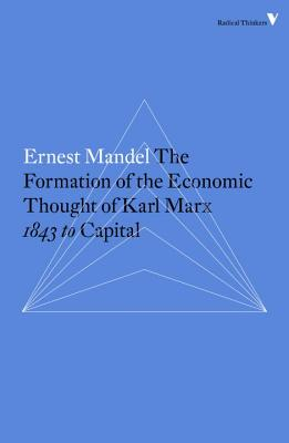 Cover for The Formation of the Economic Thought of Karl Marx