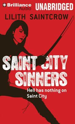 Cover for Saint City Sinners (Dante Valentine #4)