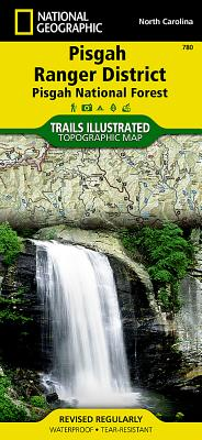 Pisgah Ranger District, Pisgah National Forest, North Carolina, USA Outdoor Recreation Map (National Geographic Maps: Trails Illustrated #780) Cover Image