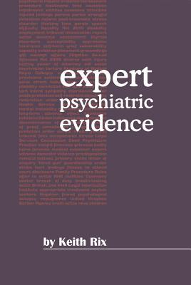 Expert Psychiatric Evidence Cover Image