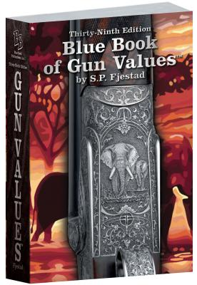 39th Edition Blue Book of Gun Values Cover Image