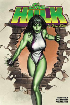She-Hulk by Dan Slott Omnibus Cover Image