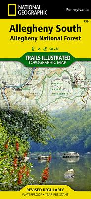 Allegheny South [Allegheny National Forest] (National Geographic Trails Illustrated Map #739) Cover Image