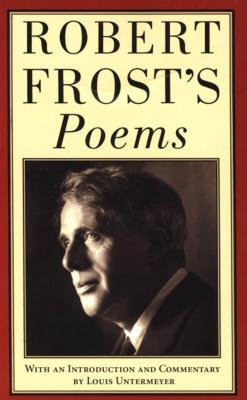 Robert Frost's Poems Cover