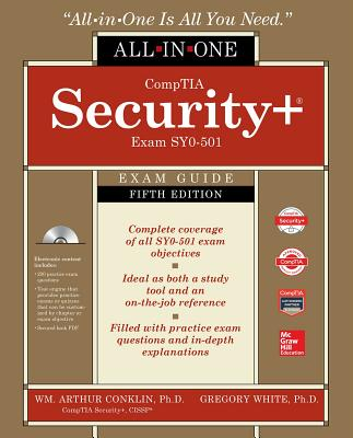 Comptia Security+ All-In-One Exam Guide, Fifth Edition (Exam Sy0-501) [With CD/DVD] Cover Image