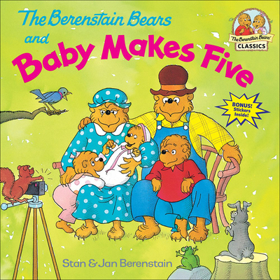 The Berenstain Bears and Baby Makes Five (Berenstain Bears First Time Chapter Books) Cover Image