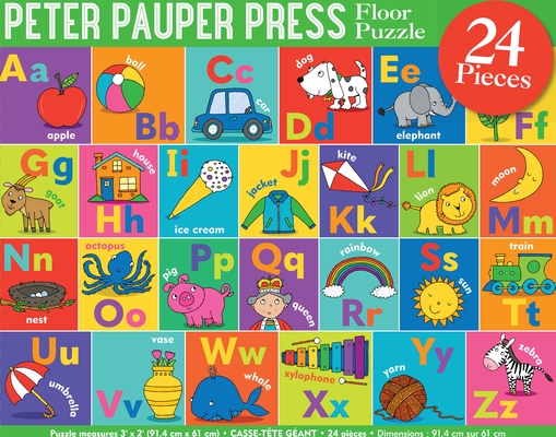 Alphabet Kids' Floor Puzzle Cover Image