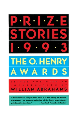 Prize Stories 1993: The O'Henry Awards Cover Image