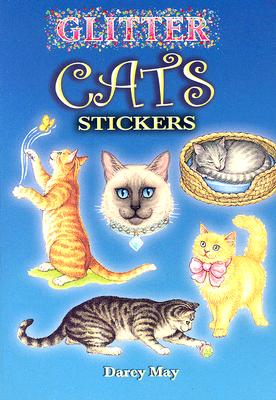 Glitter Cats Stickers Cover Image