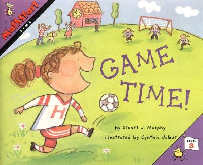 Game Time! (MathStart 3) Cover Image