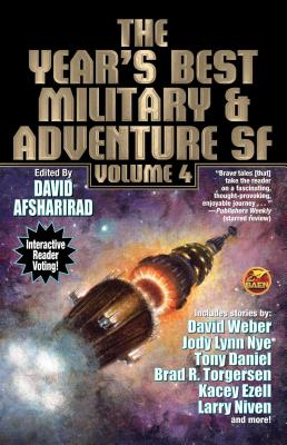 Cover for The Year's Best Military and Adventure Sf, Volume 4, 4 (Year's Best Military & Adventure Science #4)