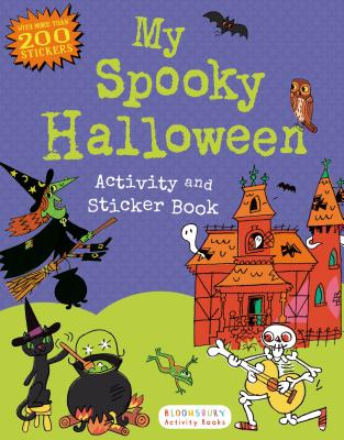 My Spooky Halloween Activity and Sticker Book (Sticker Activity Books) Cover Image