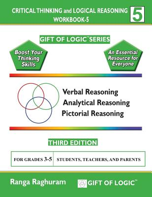 Critical Thinking and Logical Reasoning Workbook-5 Cover Image