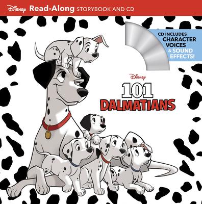 101 Dalmatians Read-Along Storybook and CD Cover Image