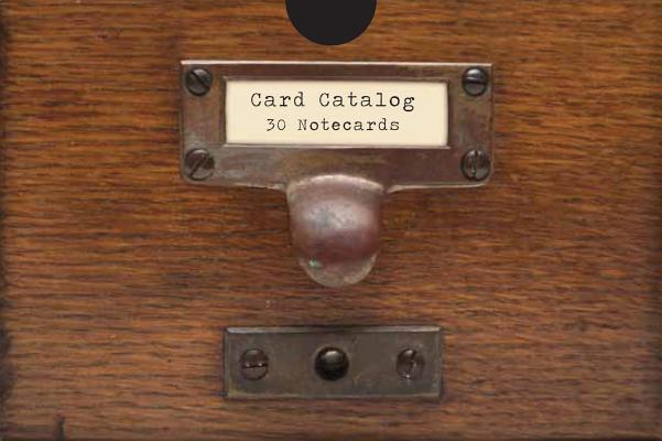 Card Catalog: 30 Notecards from the Library of Congress Cover Image