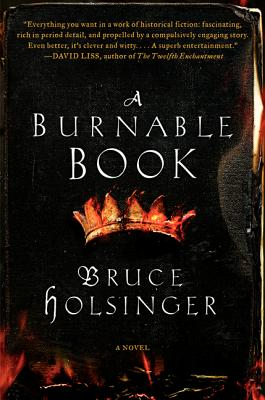 A Burnable Book: A Novel Cover Image