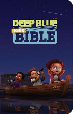 Deep Blue Kids Bible-CEB Cover