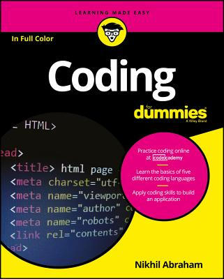 Coding for Dummies (For Dummies (Computers)) Cover Image