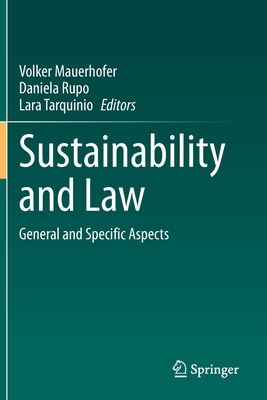 Sustainability and Law: General and Specific Aspects Cover Image
