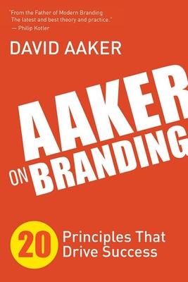 Cover for Aaker on Branding
