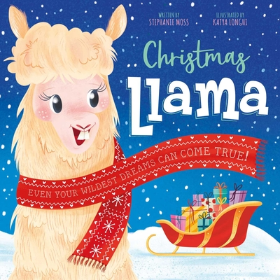 Cover for Christmas Llama