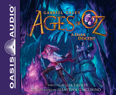 A Dark Descent (Library Edition) (Ages of Oz #2) Cover Image