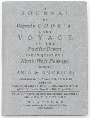A Journal of Captain Cook's Last Voyage: Light Grey Lined Journal Cover Image