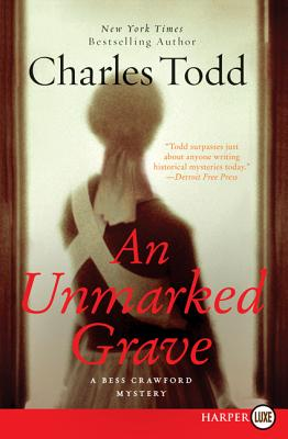 An Unmarked Grave (Bess Crawford Mysteries (Large Print)) Cover Image