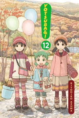 Yotsuba&!, Vol. 12 Cover