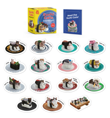 Sushi Cats Magnet Set: They're Magical! (RP Minis) Cover Image