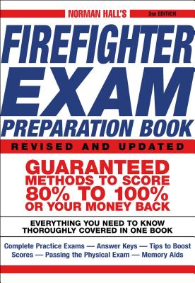 Norman Hall's Firefighter Exam Preparation Book Cover Image