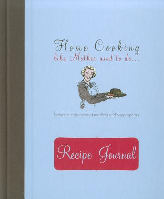 Recipe Journal - Home Cooking Cover