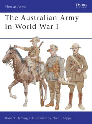 The Australian Army in World War I Cover