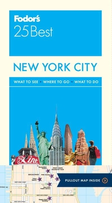 Fodor's New York City 25 Best Cover