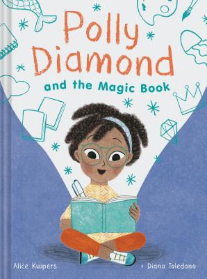 Polly Diamond and the Magic Book: Book 1 Cover Image