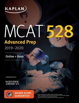 MCAT 528 Advanced Prep 2019-2020: Online + Book (Kaplan Test Prep) Cover Image