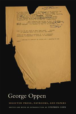 Selected Prose, Daybooks, and Papers Cover Image