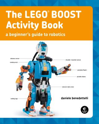 The LEGO BOOST Activity Book Cover Image