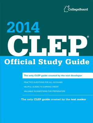 CLEP Official Study Guide Cover Image