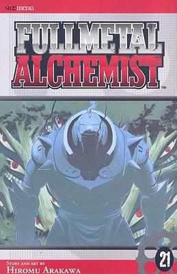 Fullmetal Alchemist, Volume 21 Cover