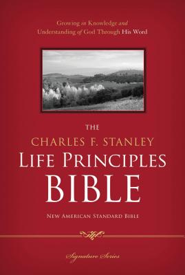 Charles F. Stanley Life Principles Bible-NASB-Signature Cover Image