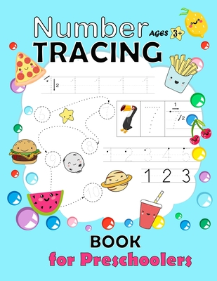 Number Tracing Book for Preschoolers: Trac number workbook Practice Workbook for Pre K Learn and write number 0 - 20 Math Activity Book Number Writing Cover Image