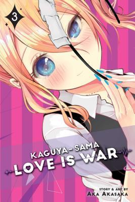Kaguya-sama: Love Is War, Vol. 3 Cover Image