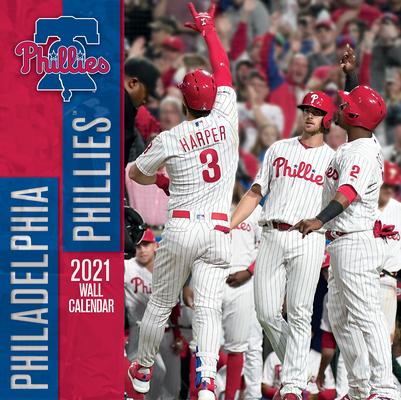 Philadelphia Phillies 2021 12x12 Team Wall Calendar Cover Image