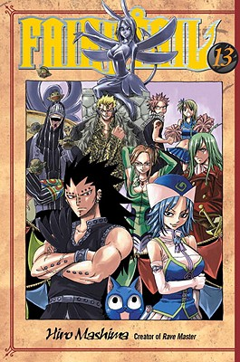Fairy Tail V13 Cover