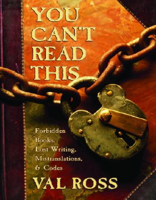 You Can't Read This Cover